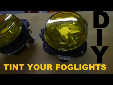 Ijdmtoy Jdm Yellow Led Fog Light Headlight Conversion Kit