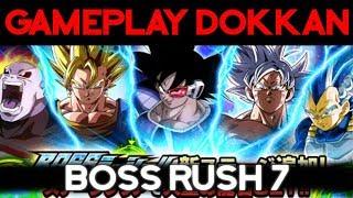 La team de Broly roule sur le Boss Rush 7 - DOKKAN