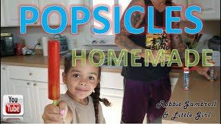 HOMEMADE POPSICLES... diy