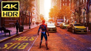 SPIDERMAN (PS4 Pro) 4K HDR Gameplay @ UHD ✔