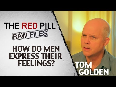 why is it hard for men to express their feelings