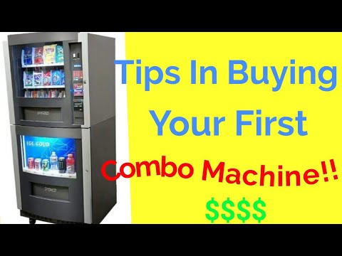 Tips in buying your first combo vending machine for your vending business!! (2019)