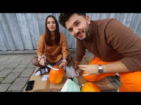kÜrbise-schnitzen-mit-meiner-freundin-🎃-happy-halloween-|-hristos-xenitidis
