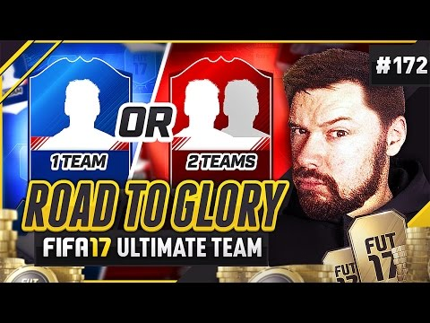 1 TEAM v 2 TEAMS! - #FIFA17 Road to Glory! #172 ultimate team