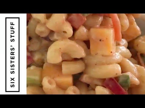 Barbecue Pasta Salad Side Dish