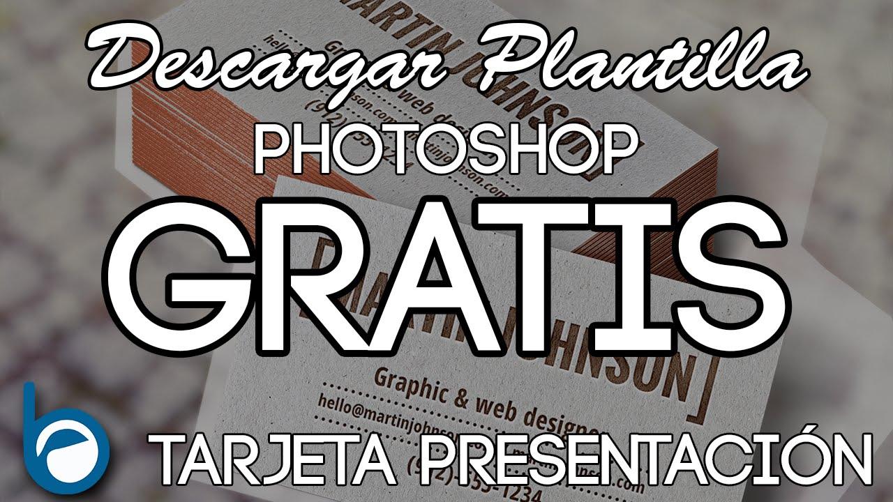 DESCARGAR PLANTILLA PSD GRATIS Y EDITABLE (TARJETA DE PRESENTACIÓN ...