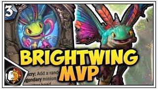 Hearthstone: Brightwing Dragon Warrior - Rise Of Shadows