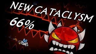 New Cataclysm 66%   Geometry Dash [2.1] [Demon]