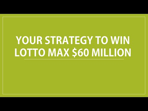 Lotto Max Winning Number Predict For $60 Million