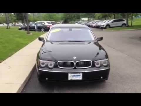 BMW Series Li From Crown MercedesBenz Of Dublin OH - 2004 bmw price