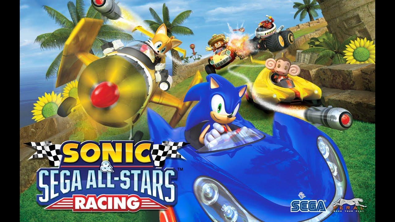 sonic sega all stars racing на андроид