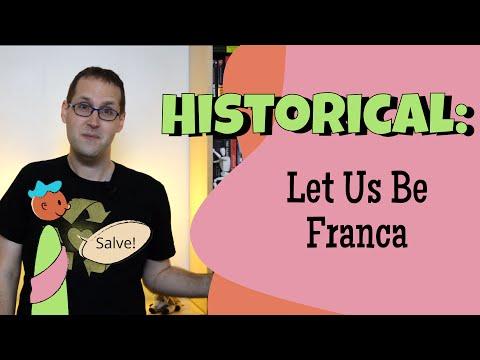 How Do We Share Our Languages Around? Lingua Francas
