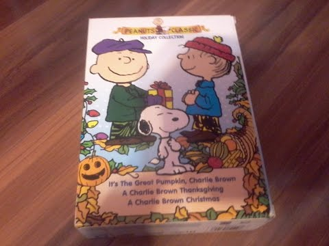 Peanuts Classic Holiday Collection 3 disc set!