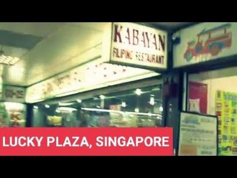 Racial Harmony in Singapore - Lucky Plaza Mall Filipino place Orchard , Singapore - Pilipinong lugar