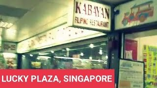 Racial Harmony in Singapore - Lucky Plaza Mall Filipino place Orchard , Singapore - Pilipinong lugar