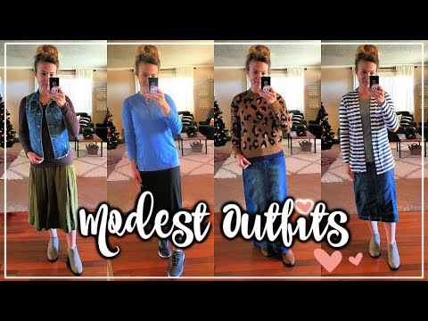 MODEST OUTFIT IDEAS WINTER 2018