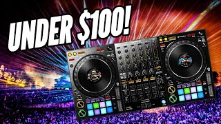 Top 5 DJ Controllers For Under $100