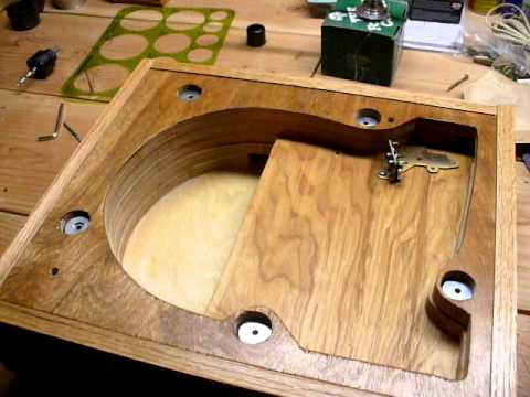 Home Made Plinth For Garrard Lab 80 Youtube