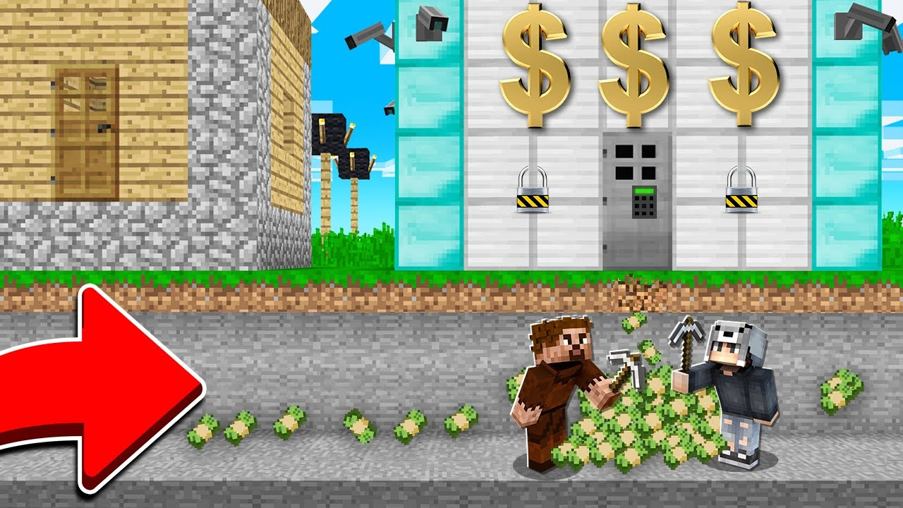 Download PARA BANKASINI SOYDUK 🤑 - Minecraft
