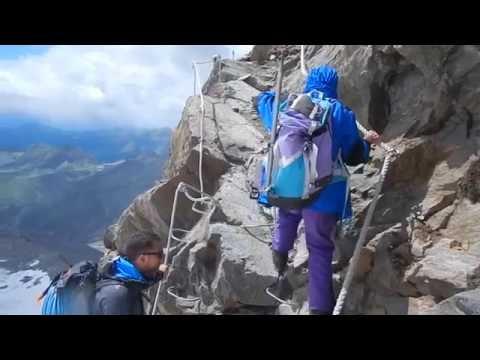 Monte Rosa - Capanna Margherita 4554m