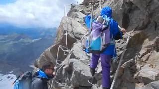 Monte Rosa - Capanna Margherita 4554m.