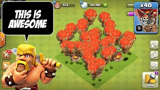 Easiet & Fastest Way to Loot at Th8 | Mass Balloons Attack Strategy | Clash of Clans