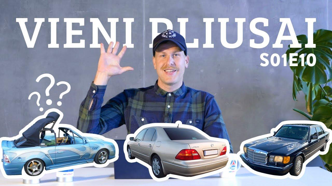 Vieni pliusai s01e10 - Seniausias automobilis Autopliuse, V8 už 6K ir atverta Pandoros skrynia!