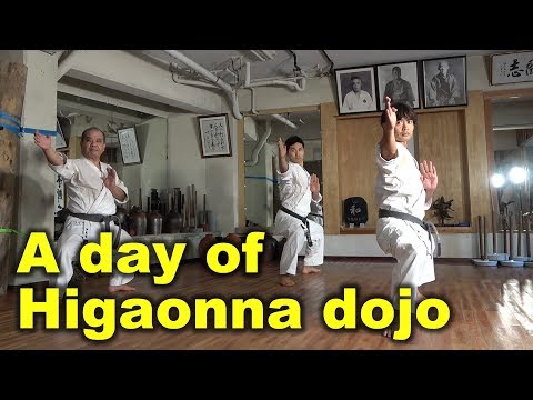 A day of Goju-ryu Higaonna dojo | KATA | English Sub | Okinawa Traditional Karate