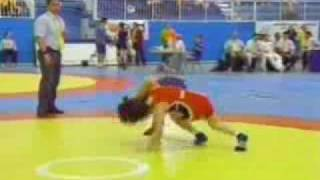 Brigitte Wagner (3 de 3) - female wrestling world champion