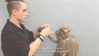 Обучающее видео вечерняя прическа, Екатеринбург.