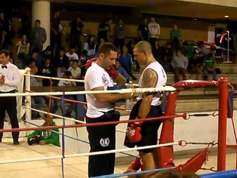 Guillermo Rivero (BASAKICK) vs David Barrios. 17.05.2014. Getxo. Boxeo, -85 kg