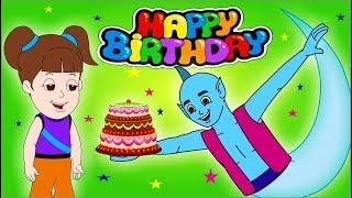 Happy Birthday with Genie | Hindi Birthday Song | Jingle Toons