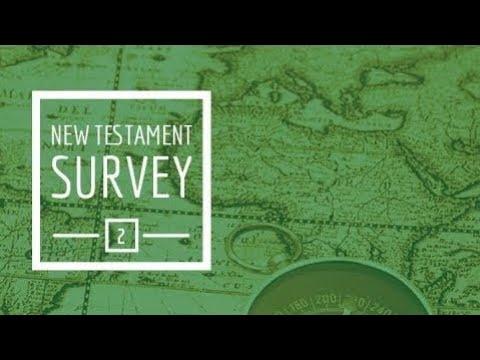 new-testament-survey-ii---introduction
