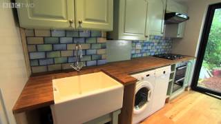 Dawn reveals her new open space - The £100k House: Tricks of the Trade - Episode 1 - BBC Two
