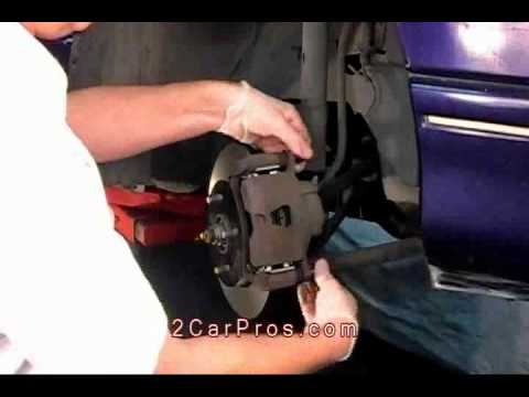2003 Saturn Ion Engine Diagram Gy6 Electric Choke Wiring Front Brake Pads Rotor Replacement 1997 2004 Sl1 Youtube