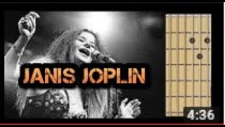 Me and Bobby McGee Janis Joplin guitar chords