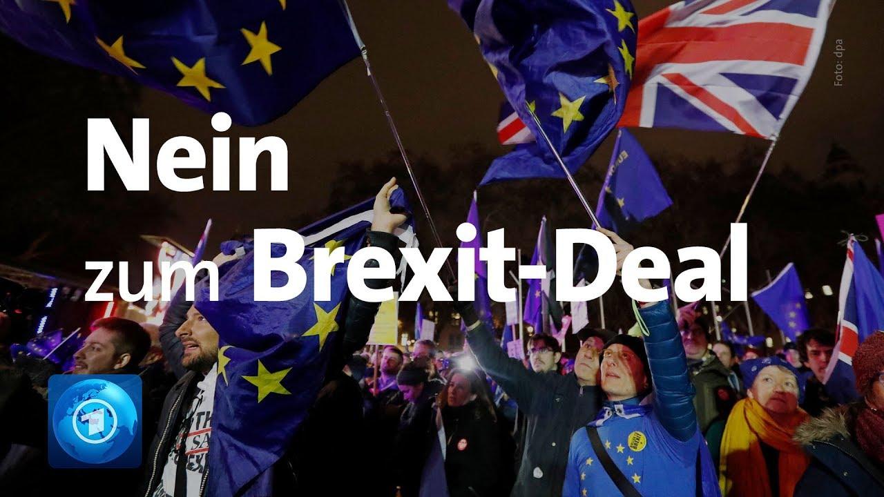 Tagesthemen-Extra Nein zu Brexit-Deal