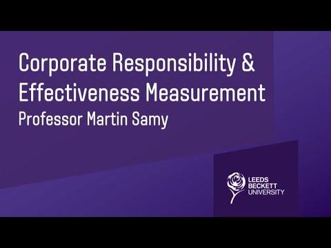 Martin Samy Professorial Inaugural Lecture
