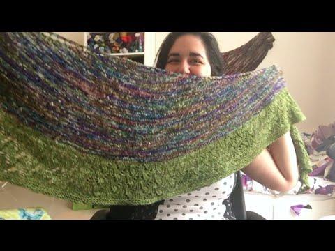 Knitting Expat - Episode 58 - Budding Bluebells Shawl ...