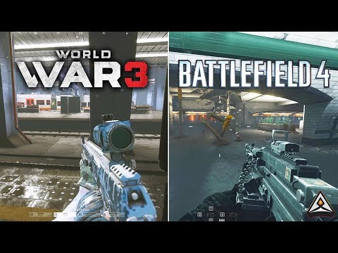 BF4 is still the KING! - World War 3 vs Battlefield 4 Graphics and Gameplay Comaprison thumbnail