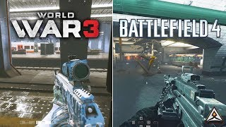BF4 is still the KING! - World War 3 vs Battlefield 4 Graphics and Gameplay Comaprison