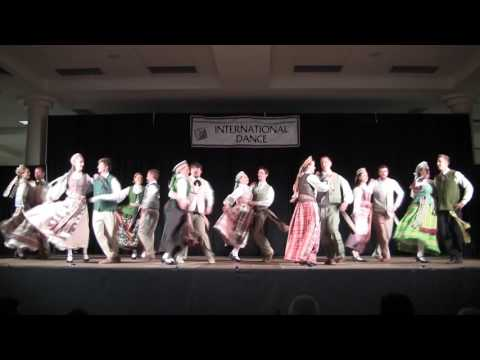 Lithuanian Dance Group Lietutis at NW Folk Life Festival 2017 in Seattle