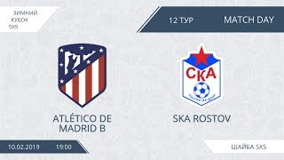 Atlético de Madrid 8:4 SKA Rostov, 12 тур