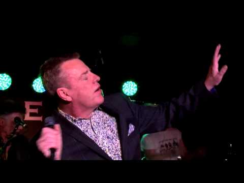 Suggs performing London Calling by The Clash At Boisdale