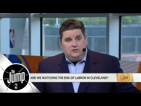 Brian Windhorst On LeBron's Free Agency: 'Everything Is On The Table'   The Jump   ESPN