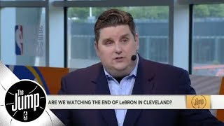 Brian Windhorst on LeBron's free agency: 'Everything is on the table' | The Jump | ESPN