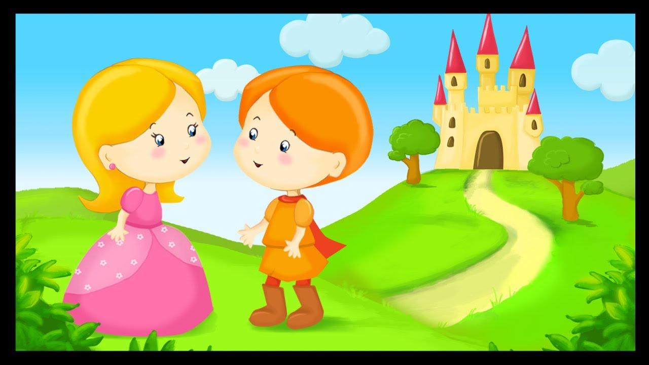 Histoire princesse m line grimm youtube - Dessin anime les 3 petit cochons ...