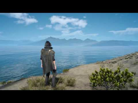 FINAL FANTASY XV You won't believe where I landed (Angelgard Island)