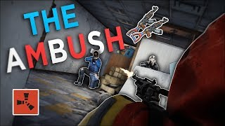 The UNEXPECTED AMBUSH that MADE ME RICH! - Rust Solo Survival #2