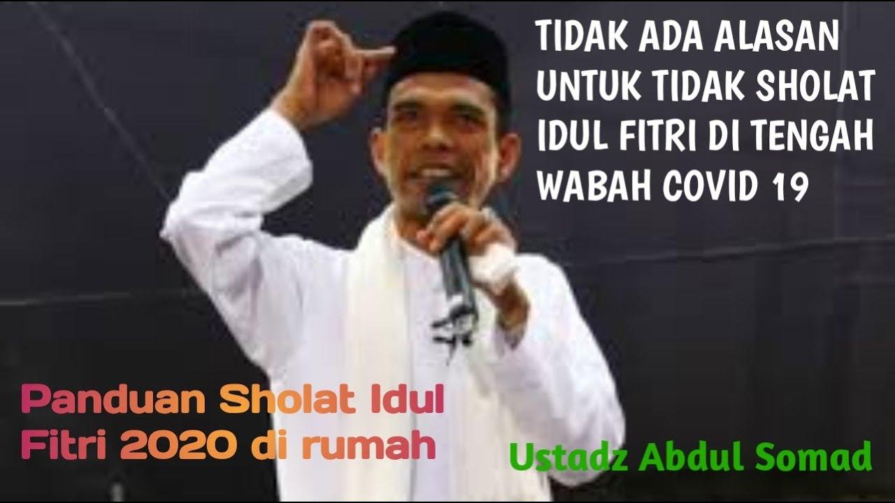 Panduan Tata cara tuntunan Sholat Idul Fitri 1441 H 2020 ...